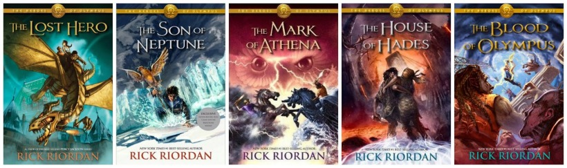 Image result for heroes of olympus series